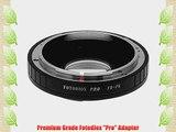 Fotodiox Pro Lens Mount Adapter Canon FD FL Lens to Pentax K (PK) DSLRs Camera FD-PK Pro