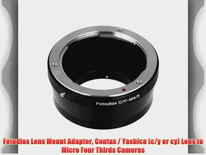 Mount Lens to Pentax K PK CY-PK PRO Contax Yashica C//Y Mount DSLRS Cameras Fotodiox PRO Lens Mount Adapter