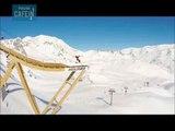Le saut à l'élastique en ski, pour les adeptes de sensations fortes