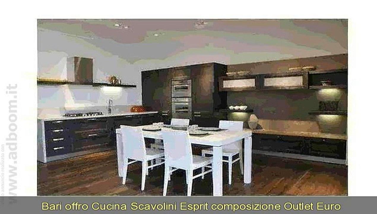 BARI, ALTAMURA CUCINA SCAVOLINI ESPRIT COMPOSIZIONE OUTLET ...