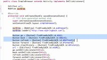 90. Android Application Development Tutorial - 90 - WebView navigation methods