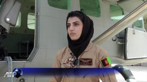 Niloofar, première femme pilote en Afghanistan