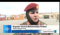 NATO in Afghanistan - Afghan Women on Night Operations