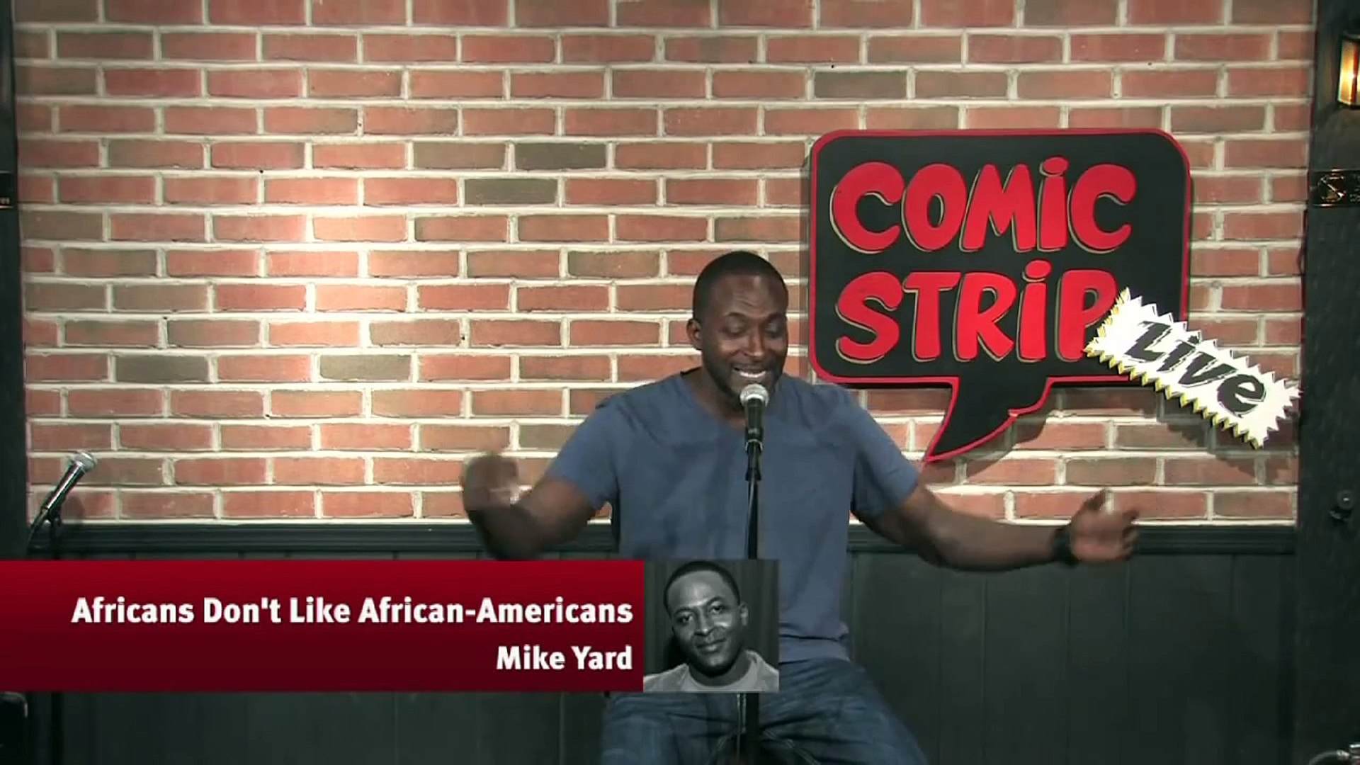 Africans Don't Like African-Americans - Mike Yard