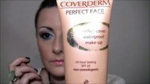 Makeup haul and flawless  FULL  coverage foundation acne prone skin COVERDERM
