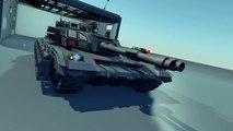 Rendering #008: Tank animation #1 (11 hours rendering)