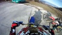 GoPro HD Yamaha yz 125 & Honda cr 125