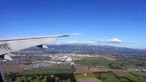Emirates Boeing 777-300ER Landing at Christchurch