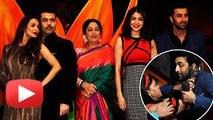 Ranbir Kapoor, Anushka Sharma, Karan Johar on India's Got Talent - Bombay Velvet Promotions - The Bollywood