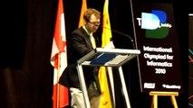 Troy Vasiga Dancing at the IOI 2010 - Waterloo Canada