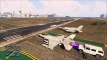GTA 5 Online Funny Moments - Crazy Airport Fun, Plane Engines, Online Glitches, Failed Betting
