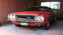 Dodge Challenger '70 first start in 4 months