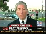 Las Vegas Debate: Barack Supporters on CNN