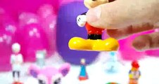 frozen Tom and Jerry Peppa Pig Play Doh Barbie Surprise eggs Cars 2 dora