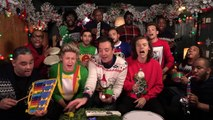"""Jimmy Fallon, One Direction & The Roots: """"Santa Claus Is Coming To Town"""" (Classroom Instruments)"""