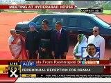 Obama In India: Obama (#obamainindia) receives Guard of Honour