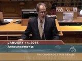 Senate Minority Leader Bill L. Cadman Speaks about the Democrats Abuse of Senate Rules