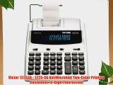 Victor 12253A - 1225-3A AntiMicrobial Two-Color Printing Calculator 12-Digit Fluorescent