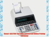 Sharp? QS2770H Two-Color Commercial Ribbon Printing Calculator