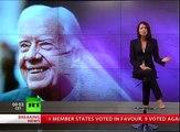 President Jimmy Carter on US Violating Human Rights & Israel, Palestine