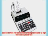 Canon? P170Dh Two-Color Roller Printing Calculator 12-Digit Fluorescent Black/Red