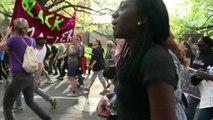 Etats-Unis: des milliers de manifestants à Baltimore