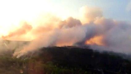 Пожар в Чернобыле / Пожежа в Чорнобилі
