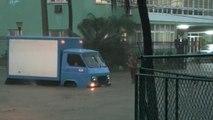 Intensas lluvias provocan inundaciones en La Habana