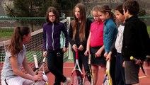 Prof de tennis, un métier passion