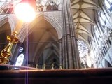 Evensong at Westminster Abbey - London
