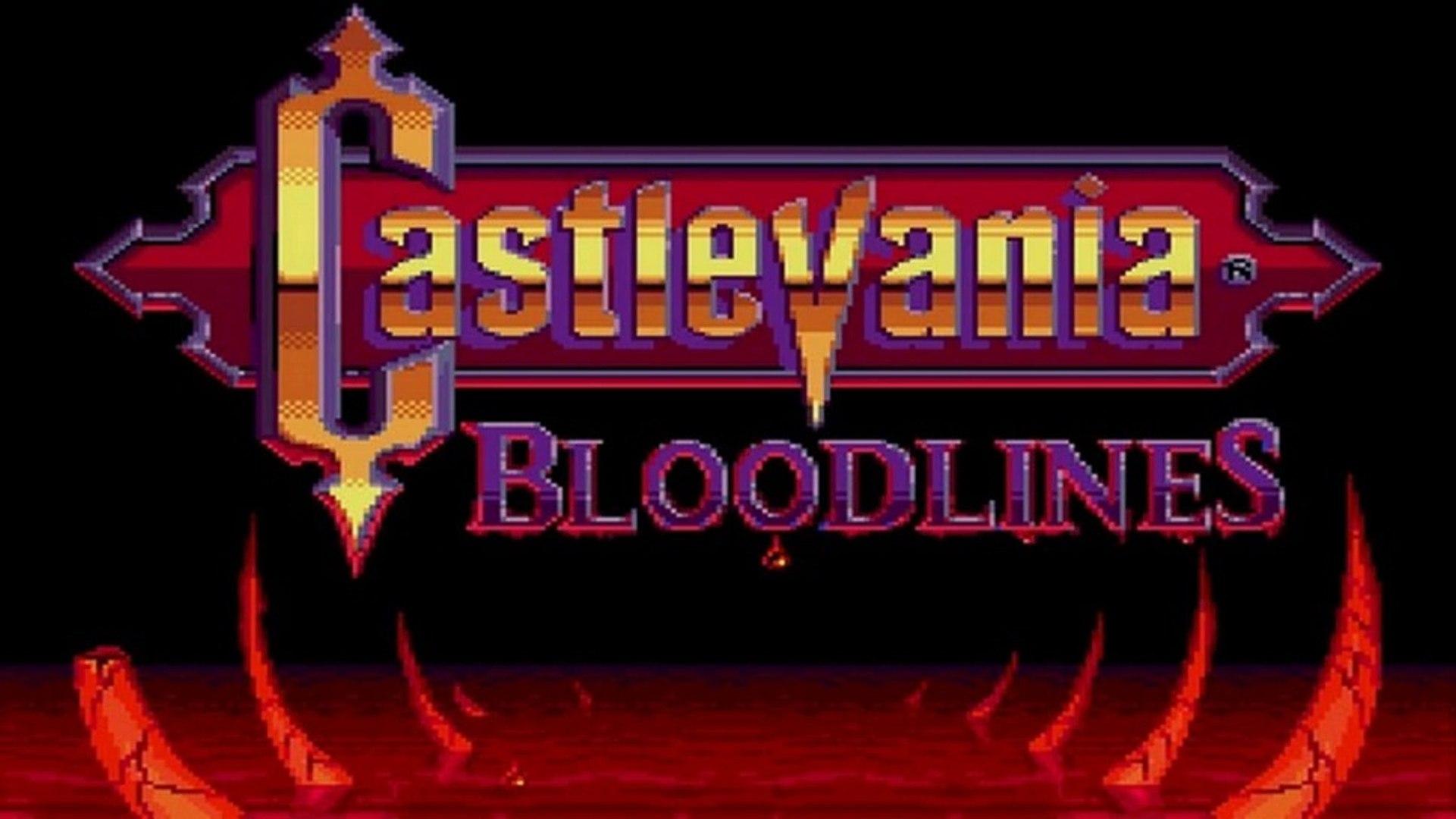 Castlevania Bloodlines - 01 - Eric et John