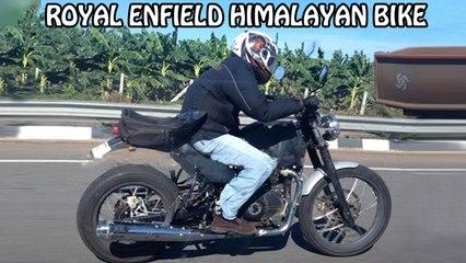 Royal Enfield Himalayan Spotted