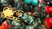 Séisme au Népal : deux miraculés sauvés des décombres