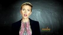 """Scarlett Johansson :  """"Ma famille a grandi en s'appuyant sur l'assistance publique"""""""