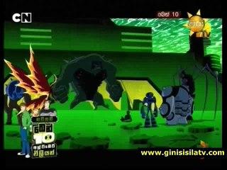Ben 10 ultimate alien sinhala cartoon hiru tv