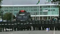 Violents heurts au Brésil lors d'une manifestation d'enseignants
