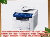 Xerox Phaser 3300MFP - Multifunction ( fax / copier / printer / scanner ) - B/W - laser - copying