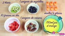Recette Facile Fruit Popsicles in French Comment Faire Glace