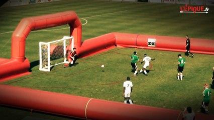 Louis Saha se fait passer pour un malvoyant pour marquer un but !