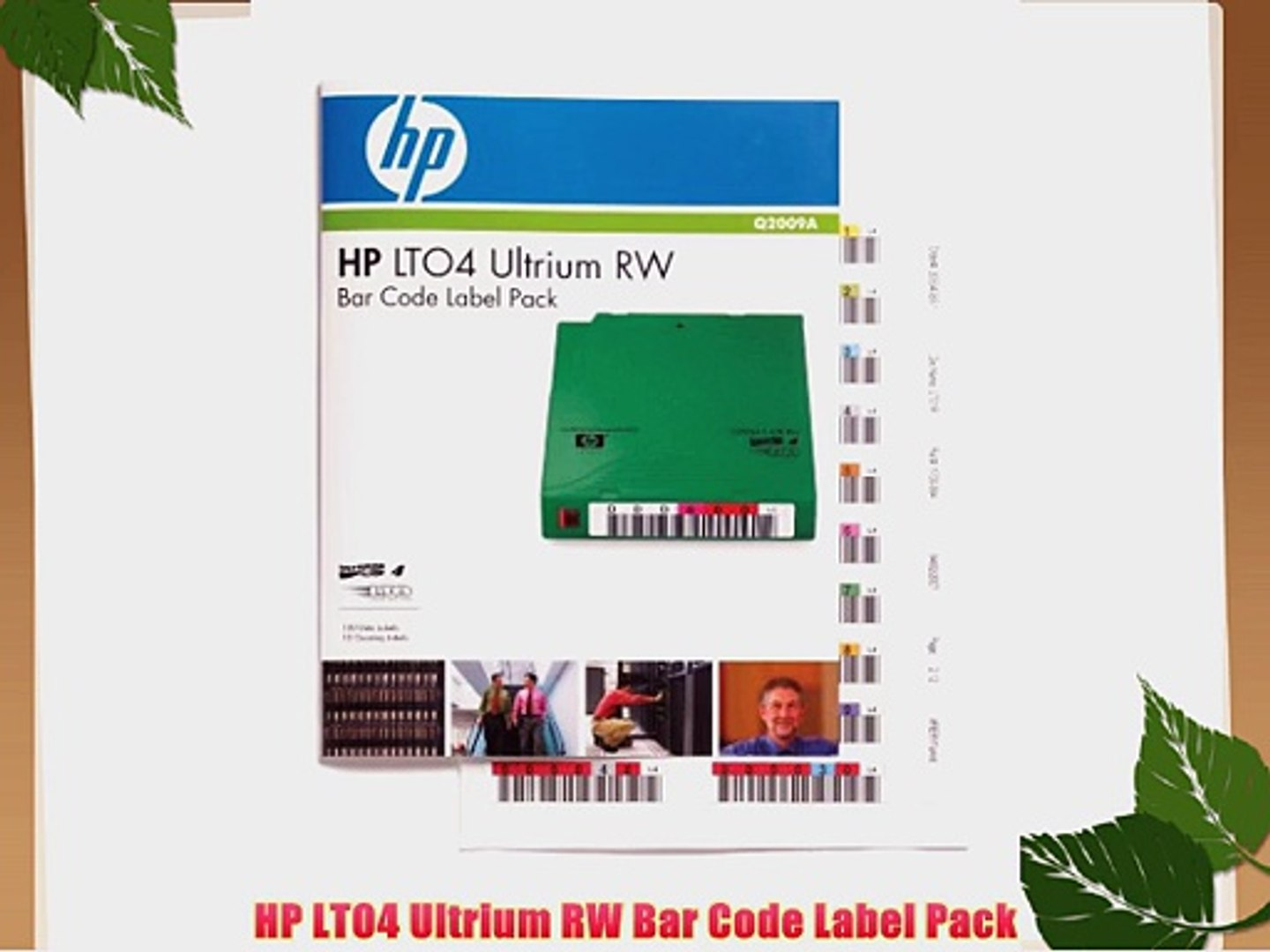 HPE LTO Ultrium 6 RW Bar Code Label Pack