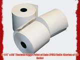 2-1/4 x 80' Thermal Paper Point of Sale (POS) Rolls (Carton of 50 Rolls)