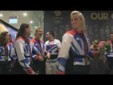 Behind the Scenes: Team GB Hockey girls celebrate Bronze