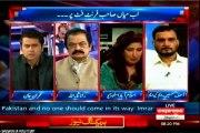 Express News Takrar Imran Khan Talk Show with MQM Asif Hasnain (29 April 2015)