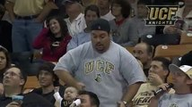 Biggie doing his dance at UCF Men's Basketball game vs Penn