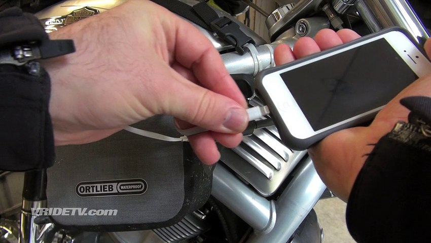 Charge your phone from your motorcycle