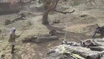 Man fights off leopard attack... with a STICK!