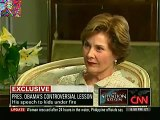 Laura Bush Defends Both Barack Obama and Dick Cheney