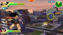 Dragon Ball Z Tenkaichi  Tag Team - Raditz and vegeta Vs Androids 17 and 18