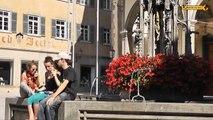 Schönheiten von Rottenburg am Neckar bei Tübingen Baden - Württemberg Germany