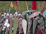 Reconstitution (2006) de la Bataille d' Hastings par Guillaume de Normandie.